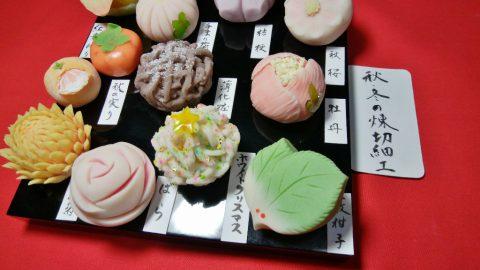 一色高校 和菓子講習会を行いました