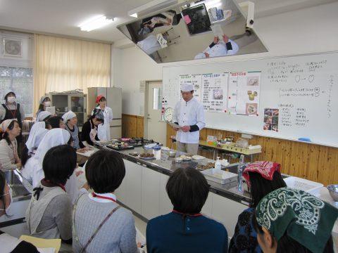 高等学校教員対象の和菓子講習会を行いました